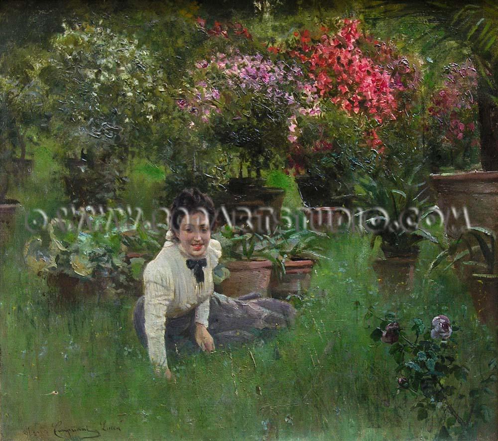 Alceste Campriani - Lucca garden