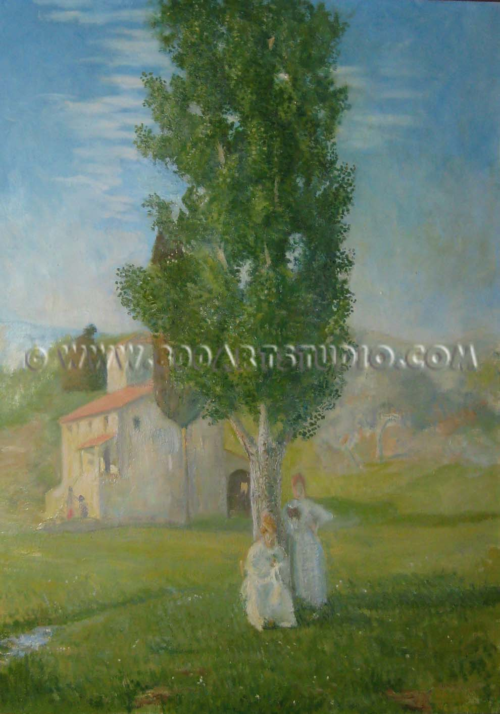 Baccio Maria Bacci - Women under the poplar