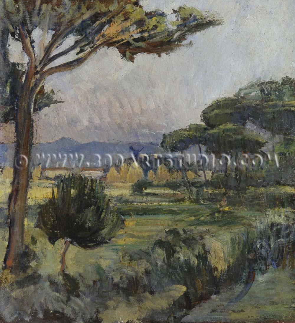Baccio Maria Bacci - Evening in Maremma