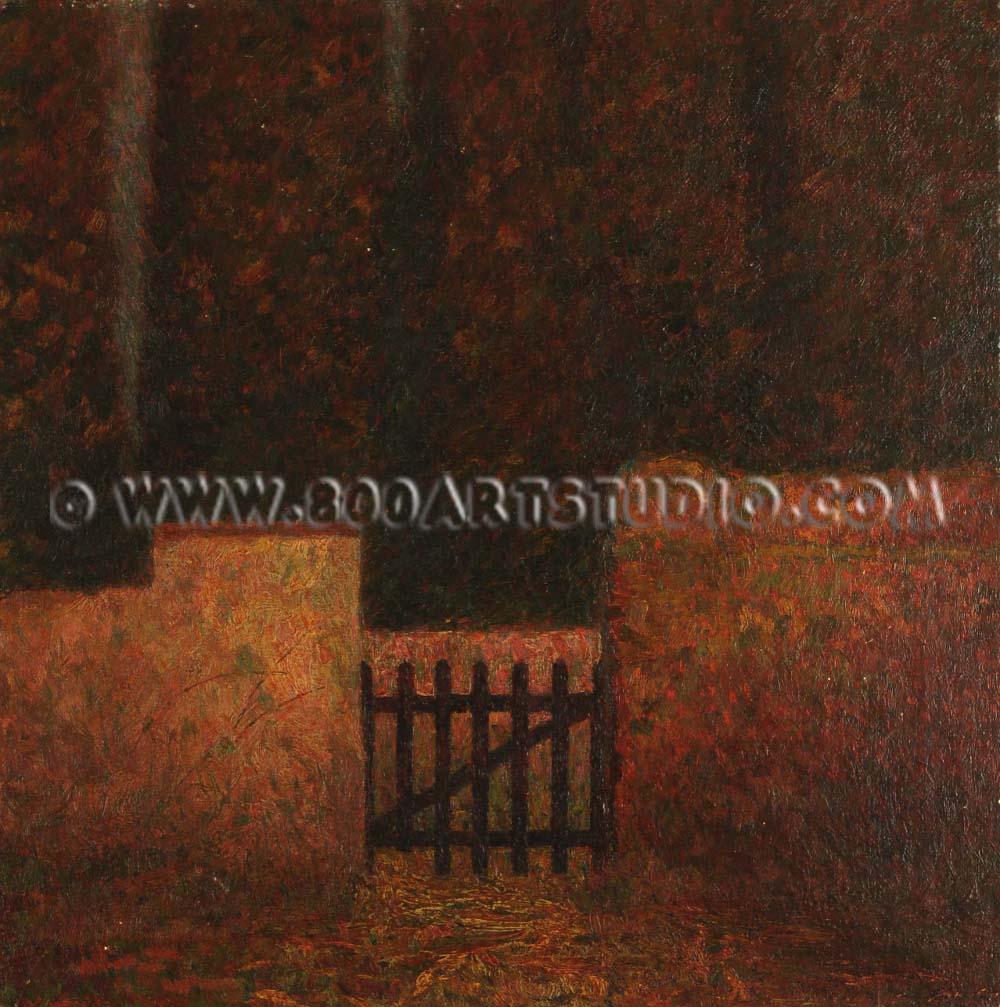 Benvenuto Benvenuti - The gate closed