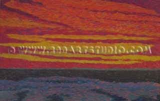 Benvenuto Benvenuti - Dark sunset