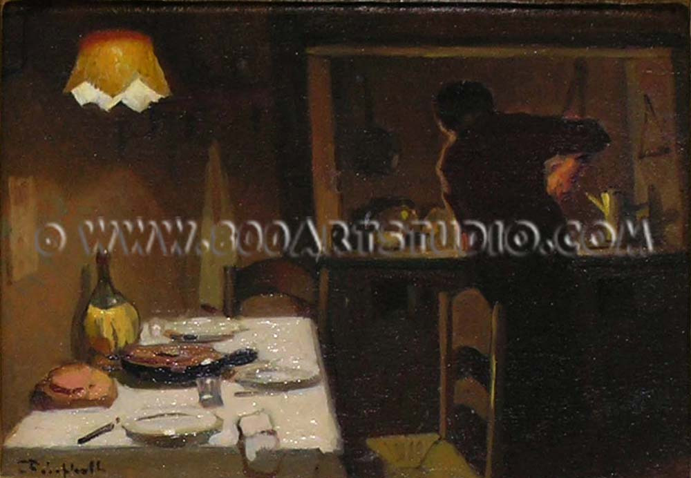 Cafiero Filippelli - At table