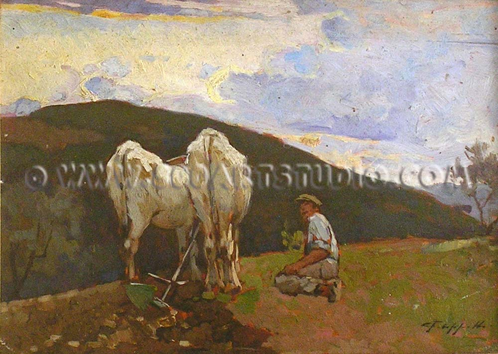 Cafiero Filippelli - The ploughing