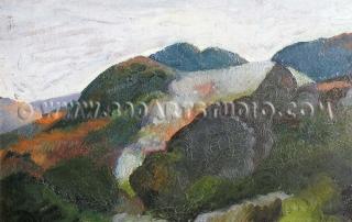 Celestino Celestini - Green hills