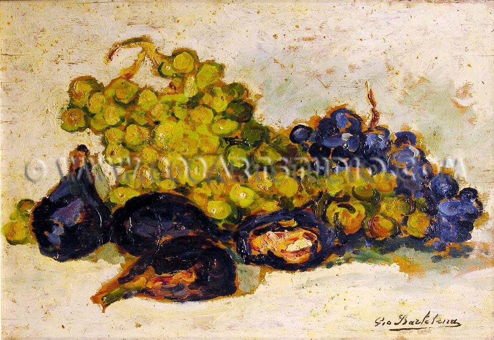 Giovanni Bartolena - Grapes and figs