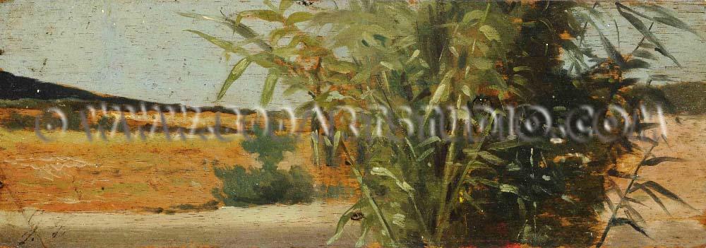 Giovanni Fattori - Cane thicket