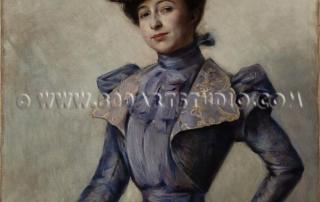 Leonetto Cappiello - Femme elegante