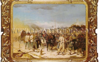 Luigi Bianchi - Military scene