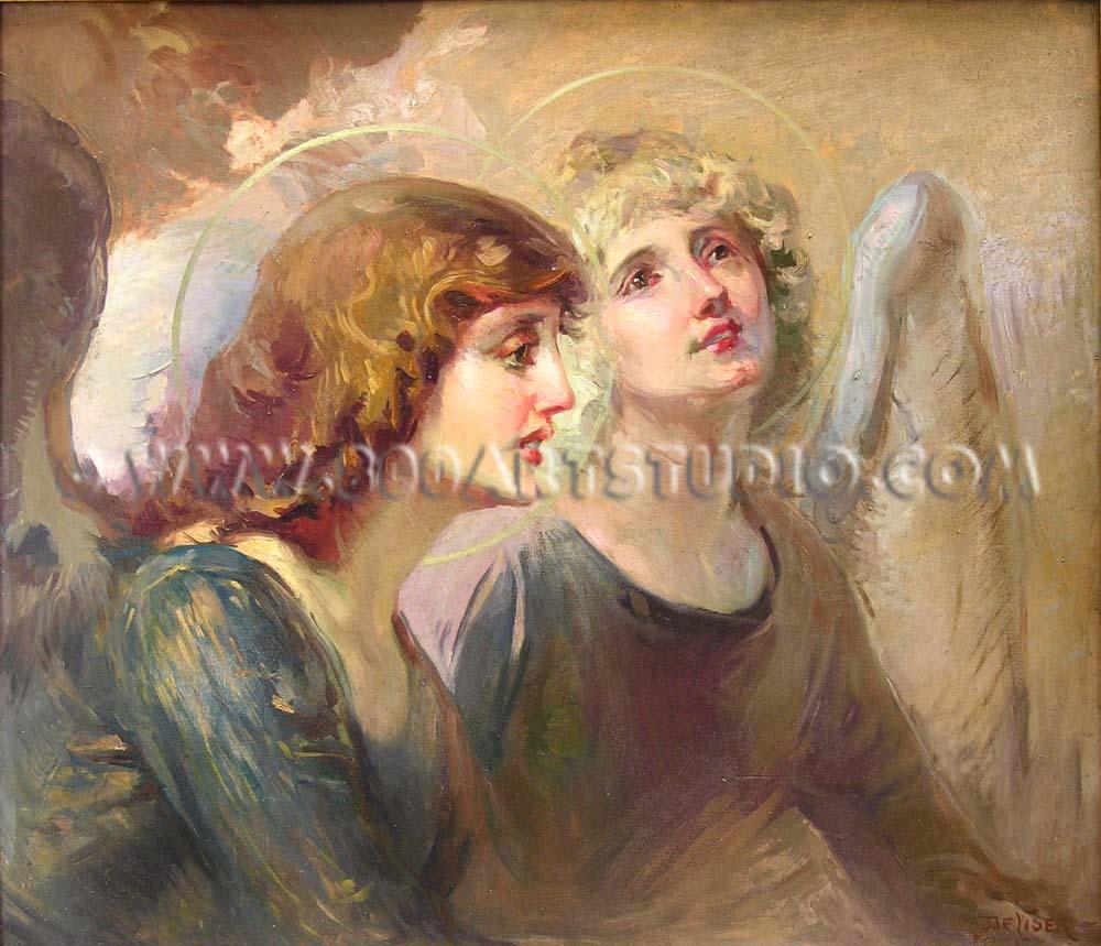 Luigi De Servi - The angels