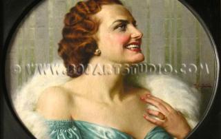 Luigi De Servi - Woman's face