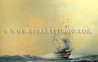 Rodolfo Claudus - Offshore sailing ship