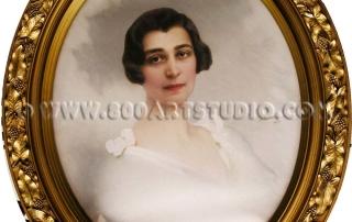 Vittorio Matteo Corcos - Woman's face