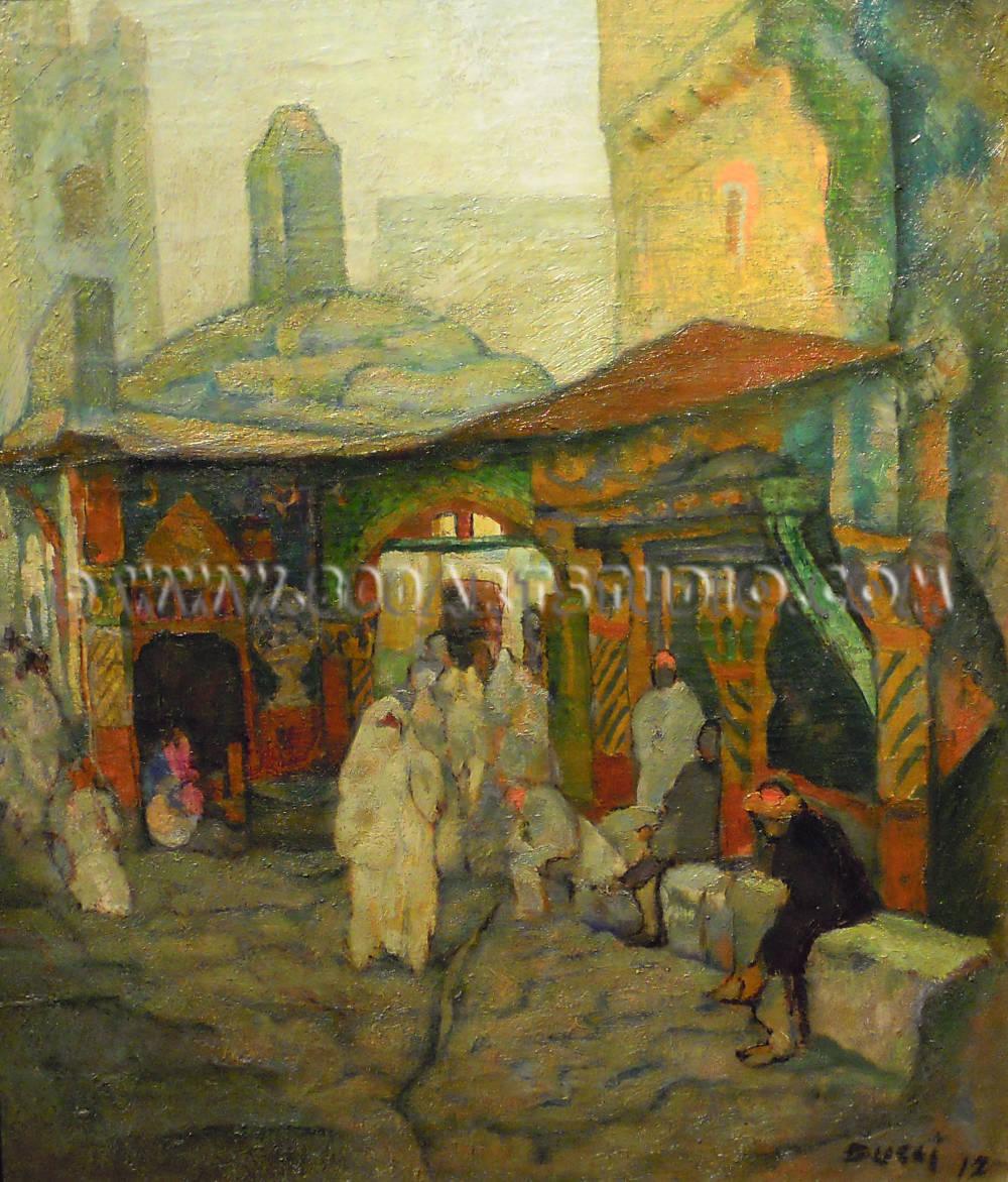 Anselmo-Bucci-Mercato-arabo-copy