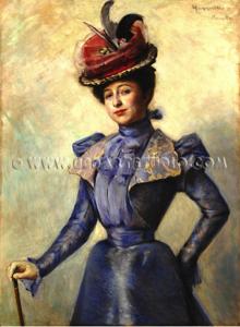 Leonetto - Cappiello - Femme - Elegante