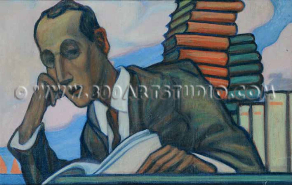 Omaggio a federico sartori 800artstudio vendita dipinti for Vendita dipinti online