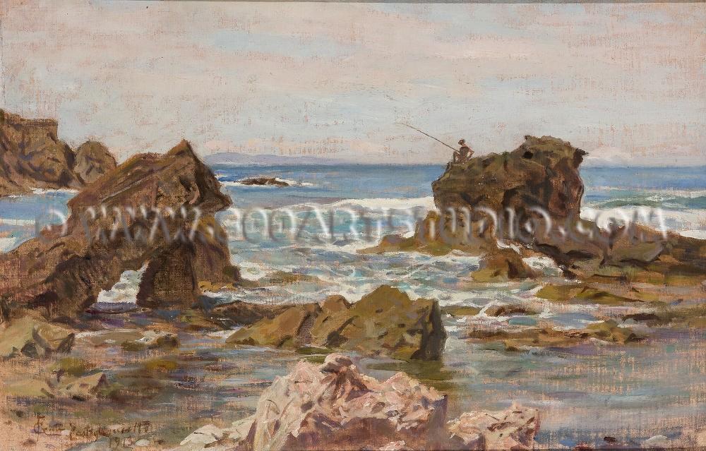 Francesco Gioli - Marina a Castiglioncello