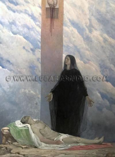 Galileo Chini - Mater dolorosa