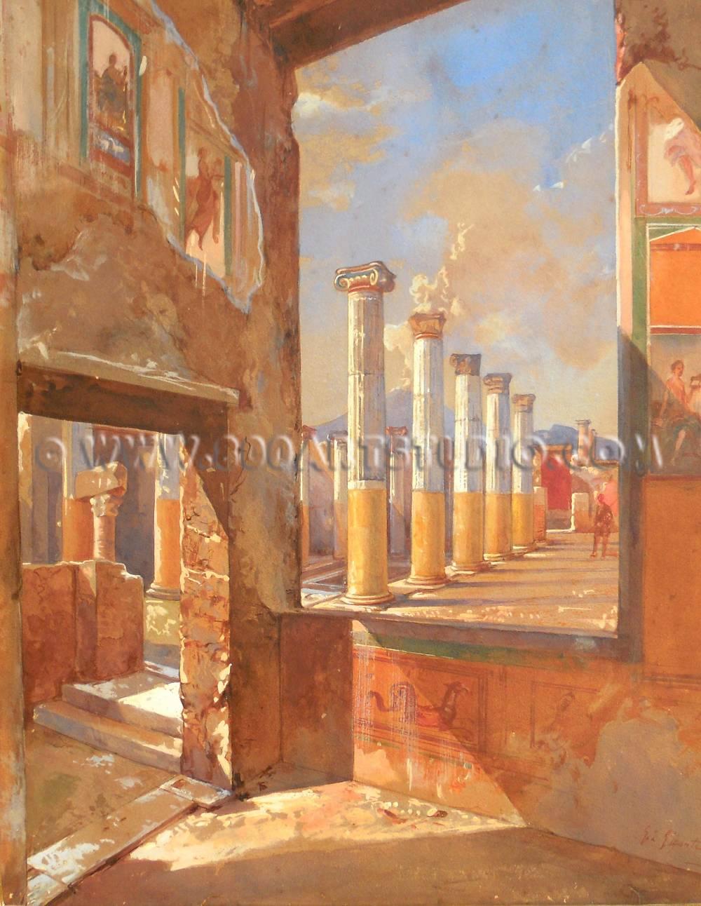 Giacinto Gigante - Pompei