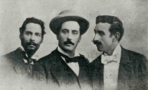 Giacomo - Puccini - fra - Francesco - Fanelli - e - Ferruccio - Pagni