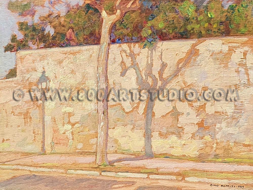 Gino Romiti - Le ombre sul muro