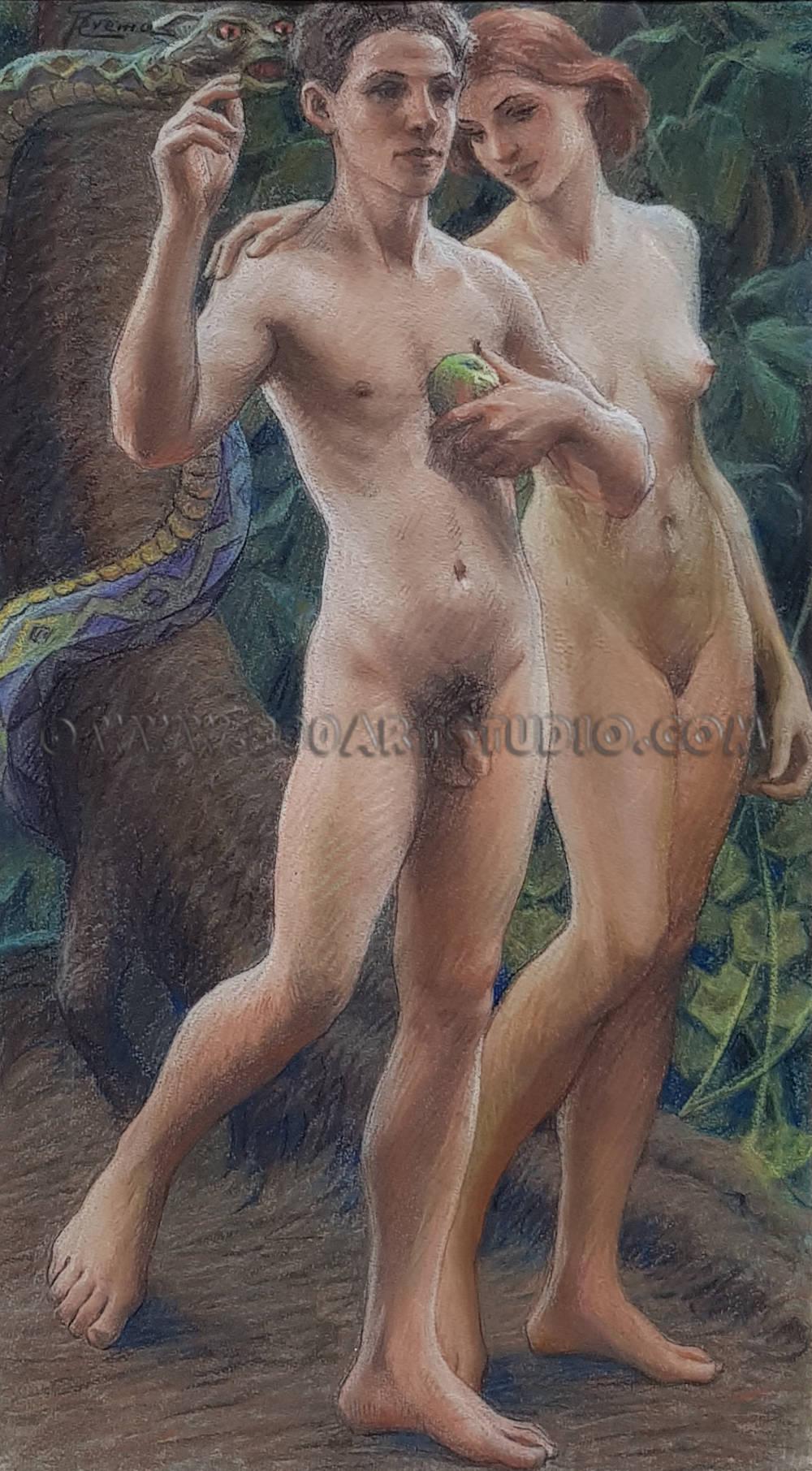 Giovanni Battista Crema - Adamo ed Eva
