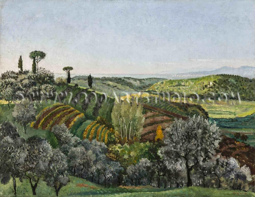 Giovanni-Colacicchi-Colline-pisane-copy