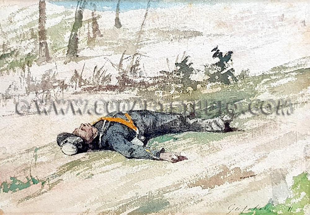 Giovanni Fattori - Il soldato abbandonato