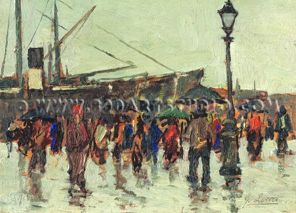 Giovanni Lomi - Sul porto