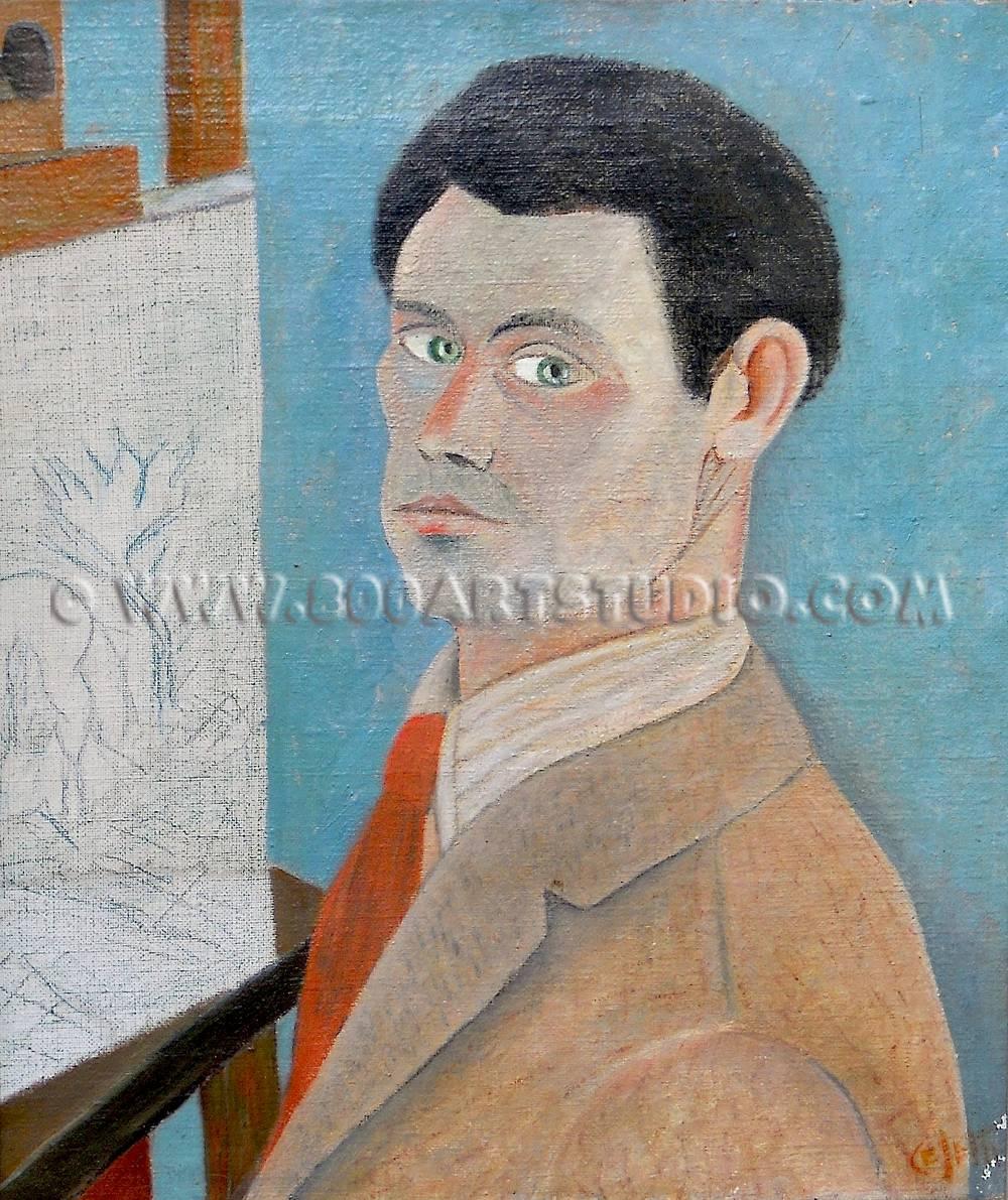 Giuseppe-Cesetti-Autoritratto-olio-su-tela-cm-41x36-copy