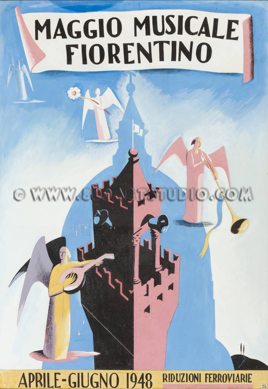 Giuseppe Piombanti Ammannati - Maggio musicale fiorentino