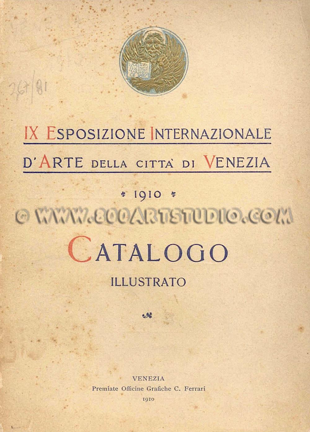 Guglielmo Amedeo Lori - Manarola sotto la luna - catalogo Biennale di Venezia