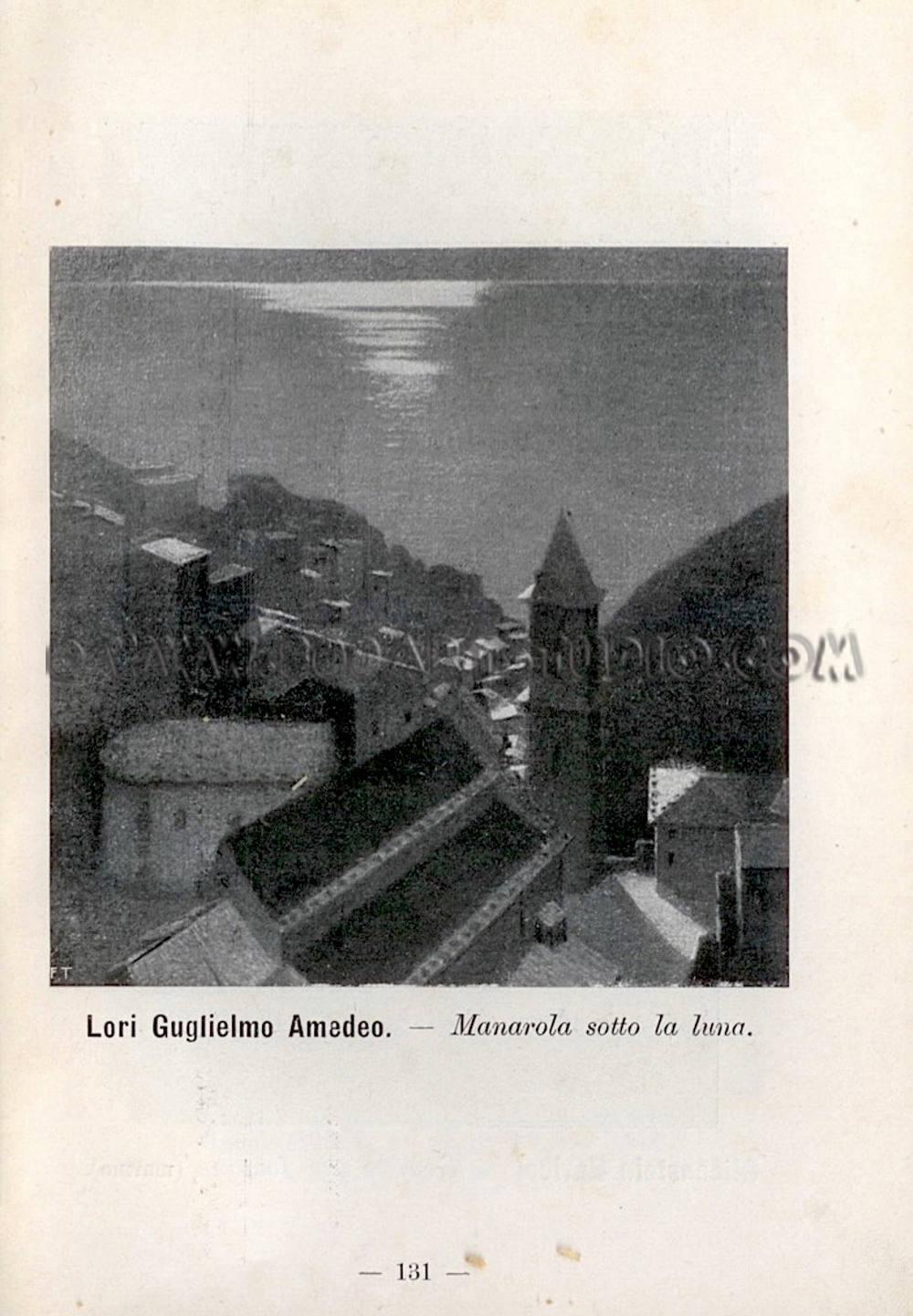 Guglielmo Amedeo Lori - Manarola sotto la luna - catalogo Biennale di Venezia - Immagine