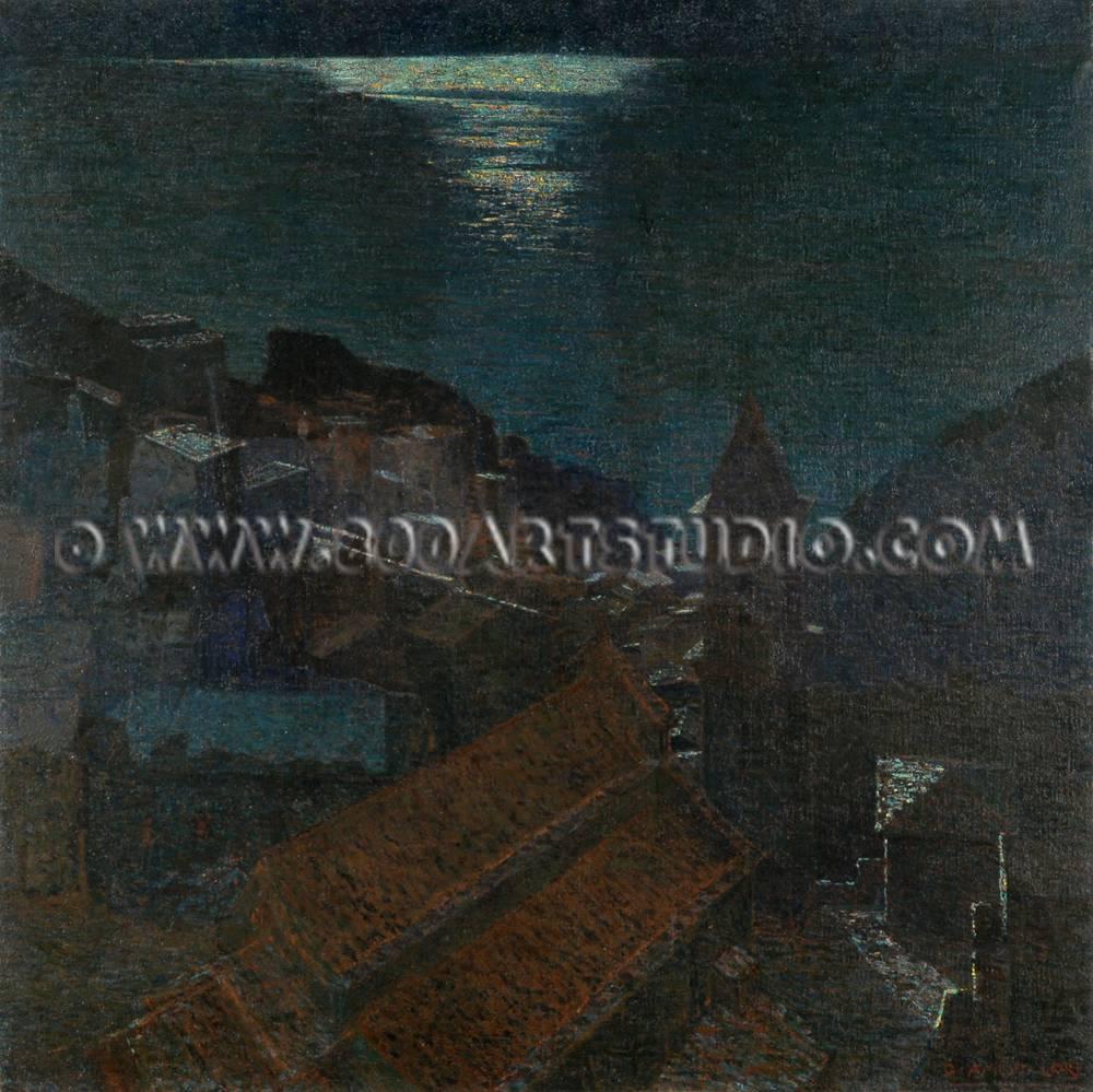 Guglielmo - Amedeo - Lori - Manarola - sotto - la - luna