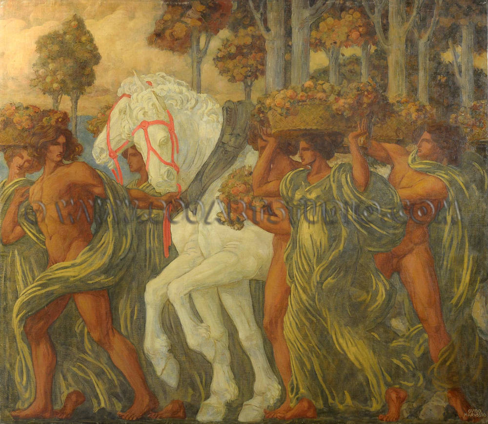 Guido Marussig - L'autunno de la frutta