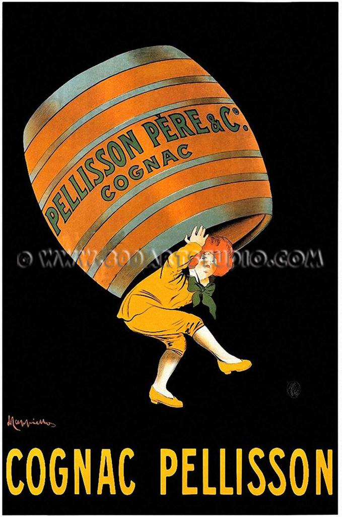 Leonetto - Cappiello - Manifesto - Pellisson - Pere - & - C - Cognac