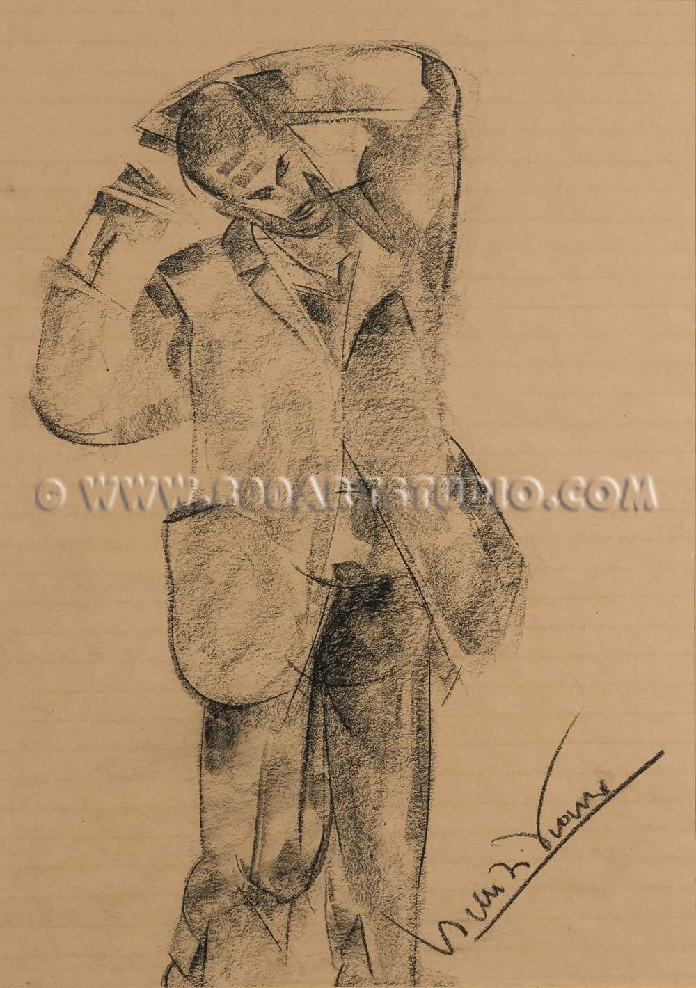 Lorenzo Viani - Figura maschile