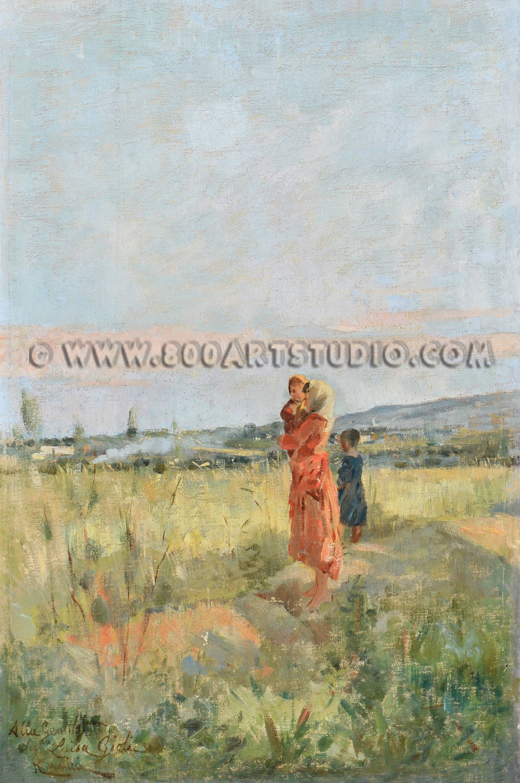 Niccolò Cannicci - Nei campi