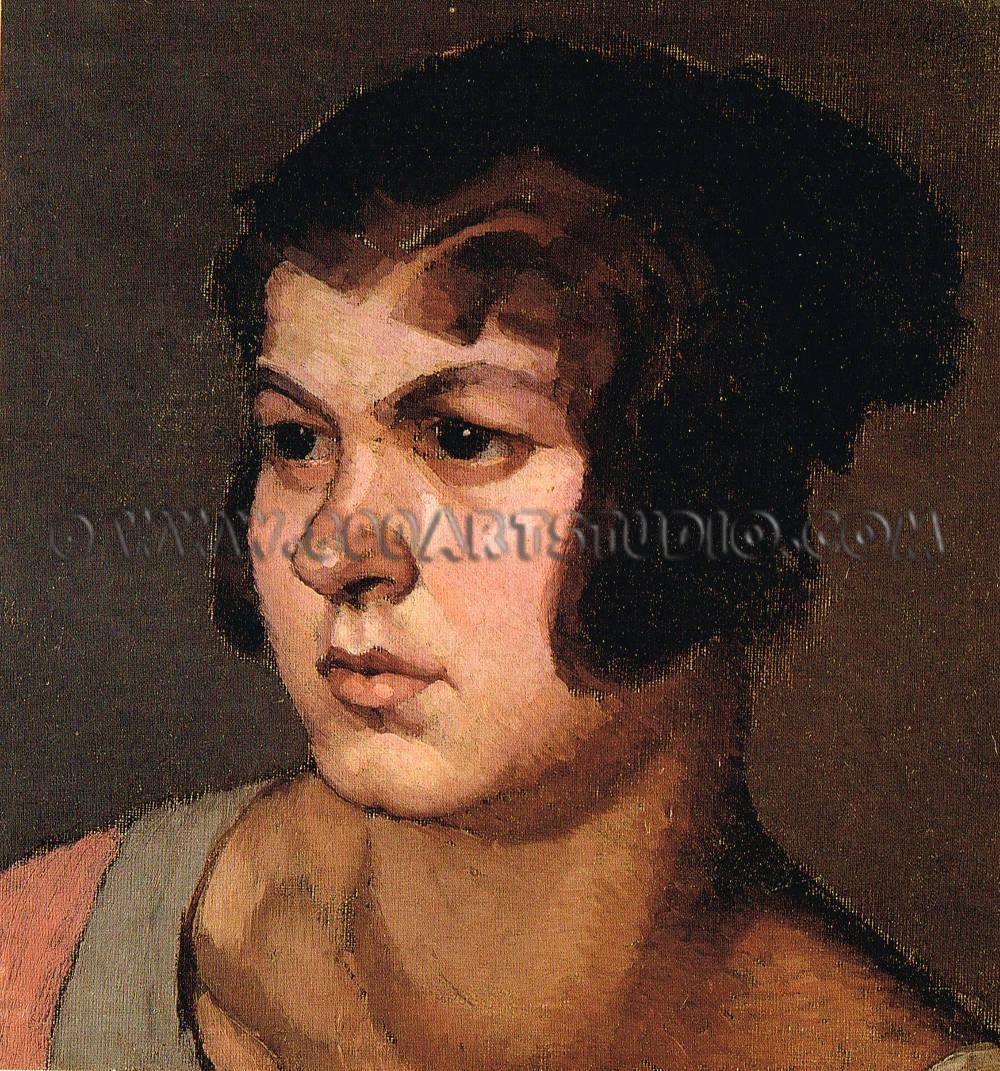 Oscar Ghiglia - Ritratto femminile