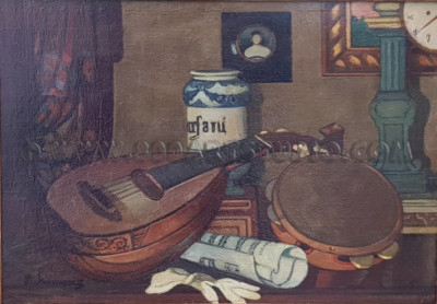 Piero Marussig - Strumenti musicali II. (Impressioni musicali)