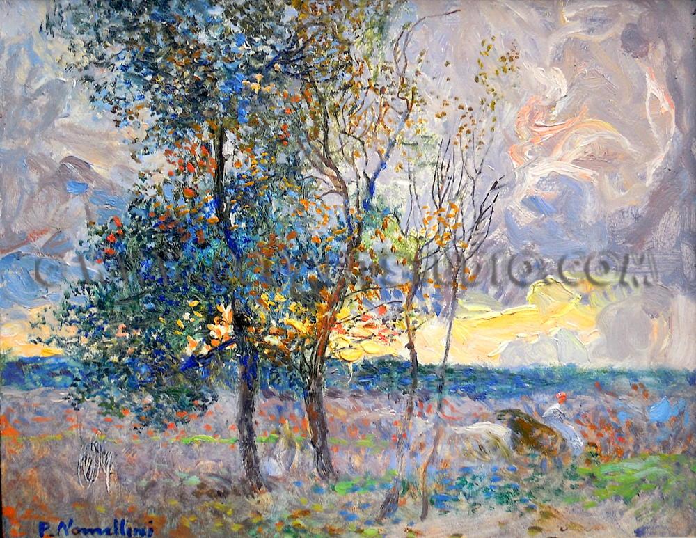 Plinio Nomellini - Arriva l'autunno
