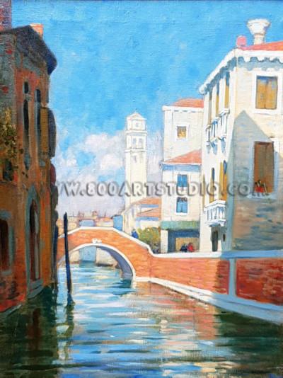 Renato Natali - Scorcio a Venezia
