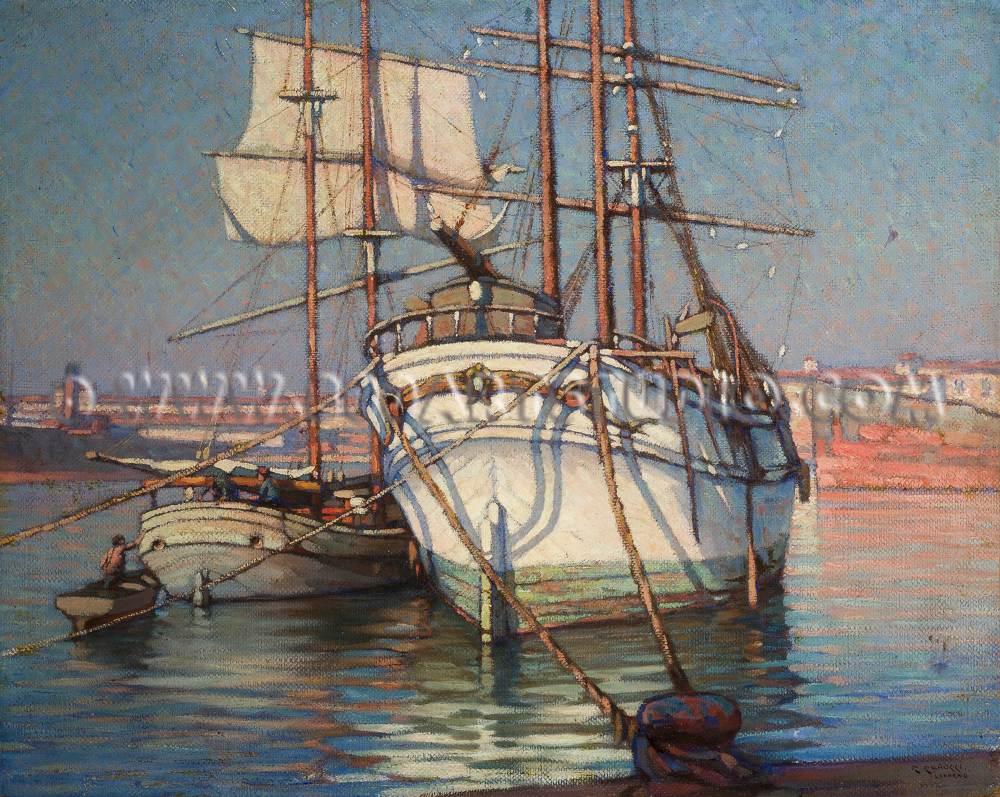 Renuccio Renucci - In porto