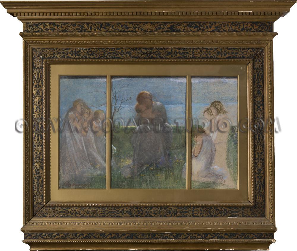 Giovanni Sottocornola - Scena allegorica