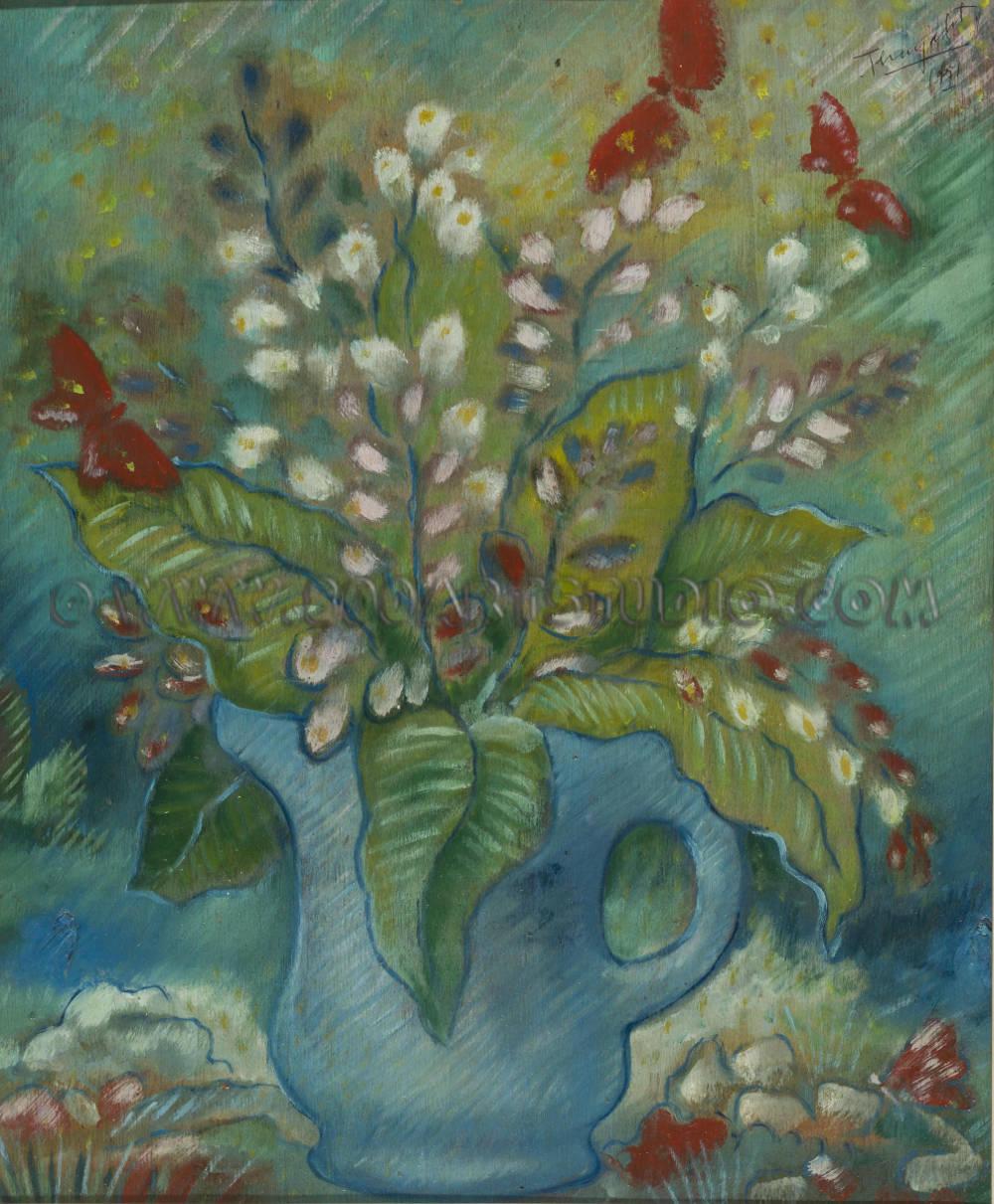 Ernesto Michahelles - Thayaht - Fiori e farfalle