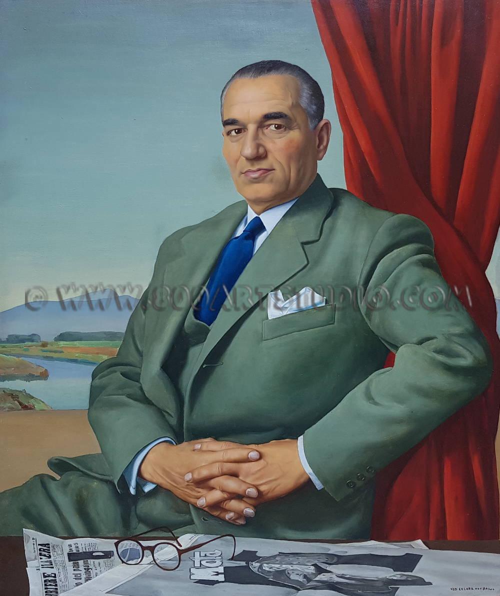 Ugo Celada da Virgilio - Ritratto di Angelo Motta