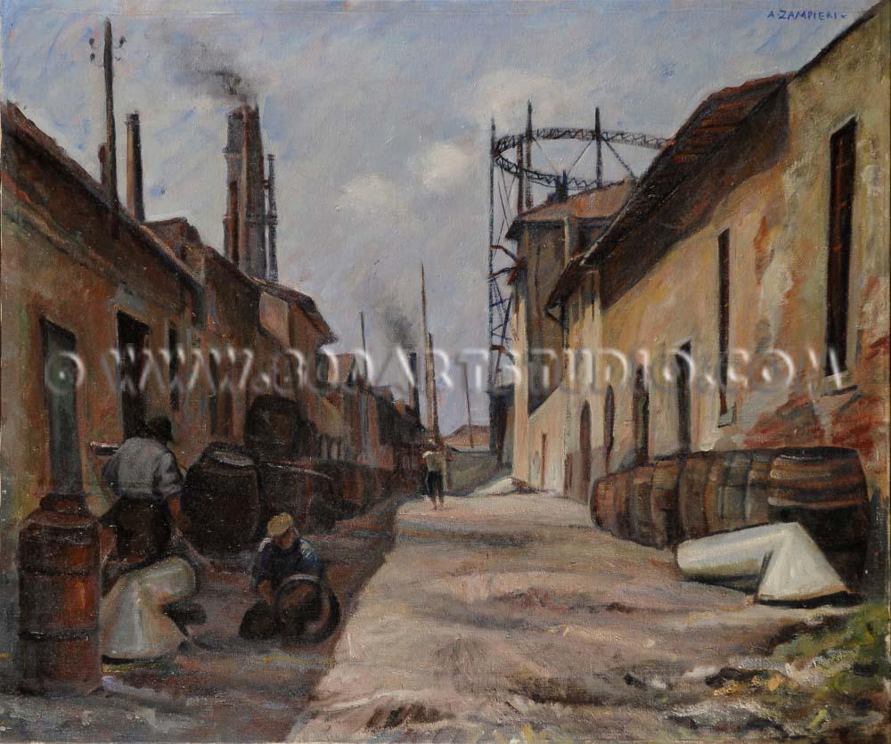 Alberto Zampieri - Vecchio sobborgo industriale