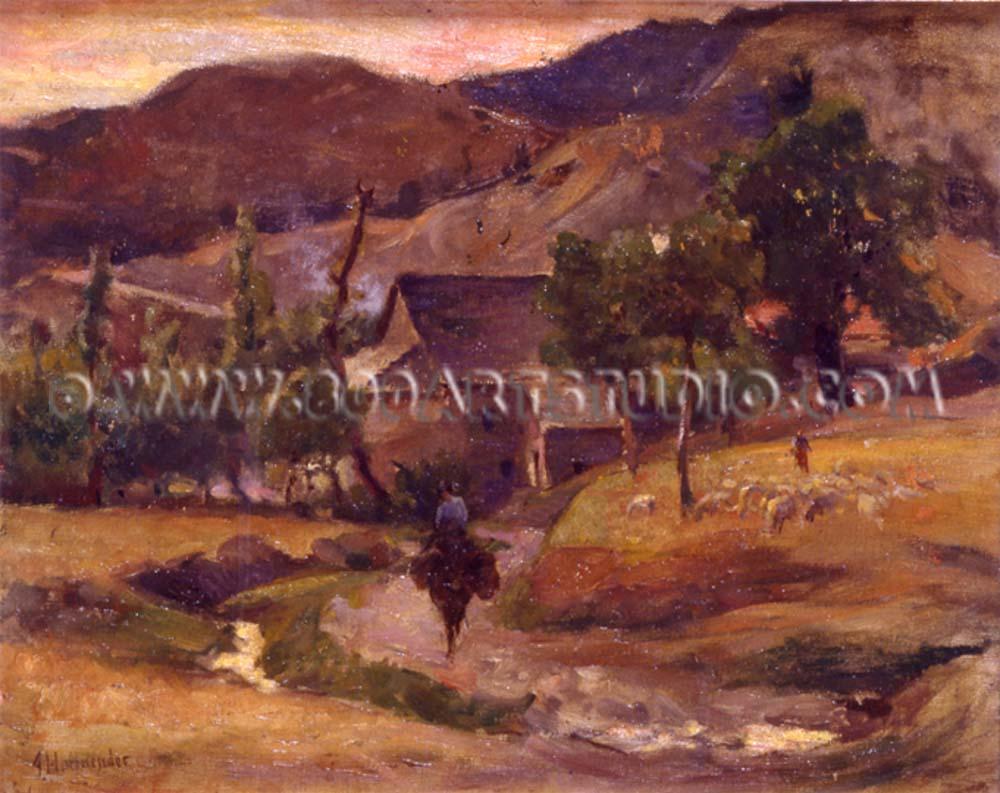 Alfonso Hollaender - Paesaggio