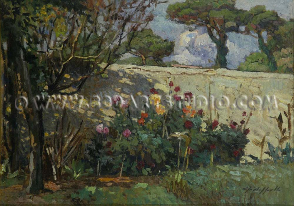 Cafiero Filippelli - Angolo di giardino