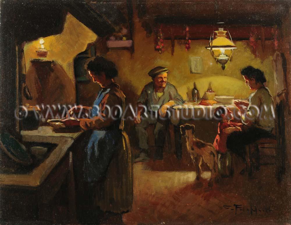 Cafiero Filippelli - Interno rustico