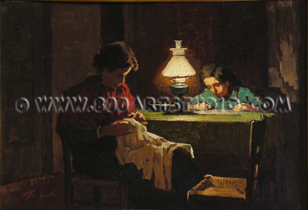 Cafiero Filippelli - Lavoro e studio